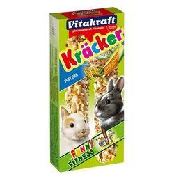 Vitakraft Kracker 2szt Królik Popcorn 100g [25157]