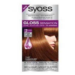 Schwarzkopf Syoss Gloss Sensation Farba do włosów 7-67 Cynamonowa Mied? 1op.