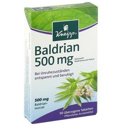 Kneipp Baldrian 500 tabletki powlekane 90 szt.