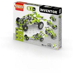 Engino, Inventor, Samochody 16w1, klocki konstrukcyjne Darmowa dostawa do sklepów SMYK