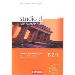 Studio d B2 Die Mittelstufe Band 1 (Podręcznik z ćwiczeniami + CD) (opr. miękka)