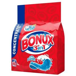 Proszek do prania Bonux - 3 kg / Active Fresh