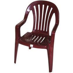 Krzesło ogrodowe Bordowe Ołer