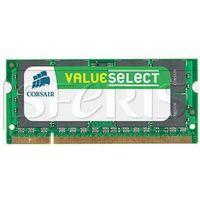 Pamięć RAM Corsair 2GB 800MHz DDR2 CL5 SODIMM 1.8V - VS2GSDS800D2