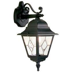 Zewnętrzna LAMPA ścienna NORFOLK NR2 Elstead KINKIET metalowa OPRAWA ogrodowa IP43 outdoor czarny