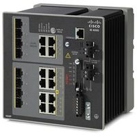 IE-4000-4S8P4G-E Switch Cisco IE4000 switch 4 FE SFP, 8 FE PoE+, 4 GE combo uplink ports