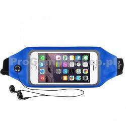 Sportowe Etui na opasek PURO z oknem do Nokia Lumia 630, Nokia Lumia 635, Blue
