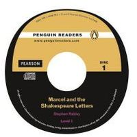 Marcel and the Shakespeare Letters + CD. Pearson English Readers (opr. miękka)