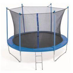 PLATINIUM 244 cm - Zestaw trampoliny z siatką zabezpieczającą