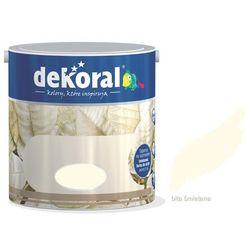 Farba Akrylit W Dekoral Bita Śmietana 2.5L