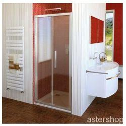 LUCIS LINE drzwi prysznicowe składane do wnęki 80cm DL2715