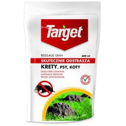 Target Reiss Aus proszek do odstraszania kretów, psów i kotów 600 ml