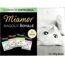 Miamor Ragout Royale Mix Sos - 4 smaki saszetki 12x100g