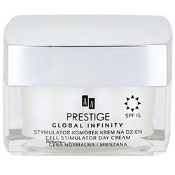 AA Prestige Global Infinity Stymulator Komórek Krem na dzień SPF15 do cery normalnej i mieszanej 50 ml