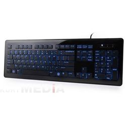 KLAWIATURA NATEC ZANDER BACKLIGHT BLACK USB ROSYJSKI LAYOUT