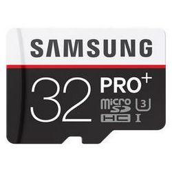 Karta pamięci Samsung MIcro SDHC PRO+ 32GB PLUS + adapter (MB-MD32DA/EU)