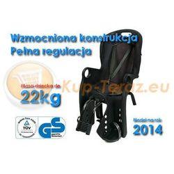 Fotelik Rowerowy do 22kg Solidny MODEL 2016 Czarny