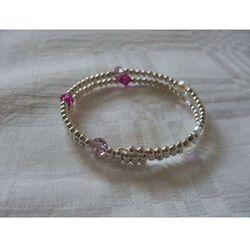 B-00010 Bransoletka na rękę z kryształkami Swarovski