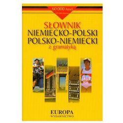(e) Słownik niemiecko - polski, polsko - niemiecki z gramatyką