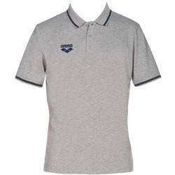 ARENA KOSZULKA TEAM LINE POLO UNISEX TL S/S MEDIUM GREY MELANGE, KOLOR: GREY, ROZMIAR: XL
