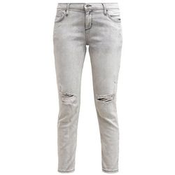 Jennyfer Jeansy Relaxed fit gris perle
