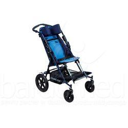 Wózek inwalidzki dziecięcy spacerowy Patron Ben 4 Basic Maxi szer. 38 (skrętne koła)