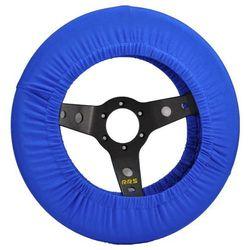 Pokrowiec na kierownicę (350mm) - Niebieski