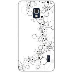 Fantastic Case - LG Swift F6 - etui na telefon - molekuły