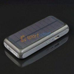 Ładowarka solarna, powerbank S13000M PowerNeed (srebrna)