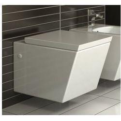 GINGER Miska WC wisząca + deska wolnoopadająca