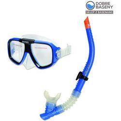 Zestaw do nurkowania: maska + rurka INTEX