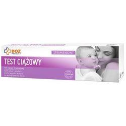 DOZ PRODUCT Test ciążowy strumieniowy, 1 szt.
