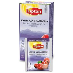 Owocowa herbata Lipton Classic Rosehip Raspberry 25 kopert