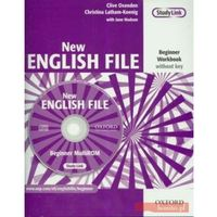 New English File Beginner Workbook + CD (opr. miękka)