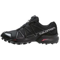 Salomon SPEEDCROSS 4 Obuwie do biegania Szlak black/black metallic