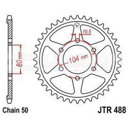 Zębatka tylna stalowa JT 488-40, 40Z, rozmiar 530 2300195 Kawasaki ZRX 1200