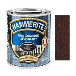 Farba Prosto Na Rdzę - Efekt Młotkowy Brązowy 0,25L Hammerite