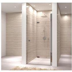 MY SPACE Drzwi prysznicowe składane 70x190, profile chrom, szkło transparentne EasyClean