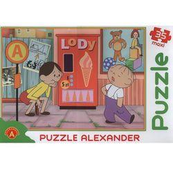 Puzzle maxi Bolek i Lolek automat do lodów 35