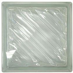 Pustak szklany Fala bezbarwny Glass