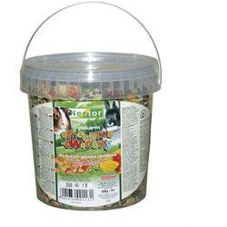 NESTOR Pokarm orzechowo - owocowy dla dużych gryzoni i królików - 3 l (wiadro)