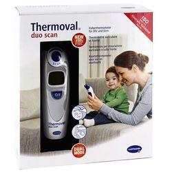 Thermoval duo scan termometr elektroniczny do ucha i czoła 1 szt.