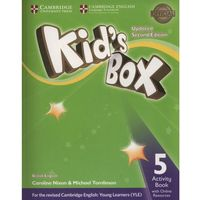 Kid's Box Level 5 Activity Book With Online Resources British English (opr. miękka)