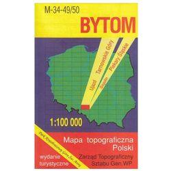 Bytom Tarnowskie Góry mapa 1:100 000 WZKart (opr. miękka)