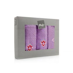Komplet ręczników Squares - 3 el.