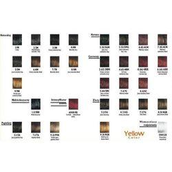 Yellow Color Farba do włosów 6.3 - ciemny złocisty blond - 6.3 - ciemny złocisty blond ||1.0 - czarny