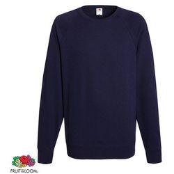 Fruit of the Loom Granatowa męska bluza ze ściągaczem wokół szyi rozmiar XL Darmowa wysyłka i zwroty