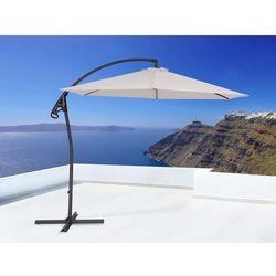 Parasol ogrodowy na wysięgniku – stojak metalowy – ø 290 cm - ASTI II beżowy