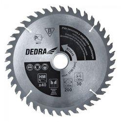 Tarcza do cięcia DEDRA H50060 500 x 30 mm do drewna