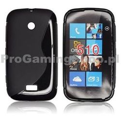 Silicone Case for Nokia Lumia 510, Black